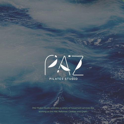 Logo design for PAZ Pilates Studio