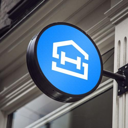 Letter HS + House