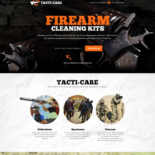 Firearm Cleaning Kits!