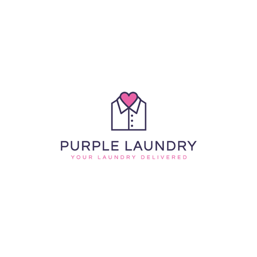 Purple laundry