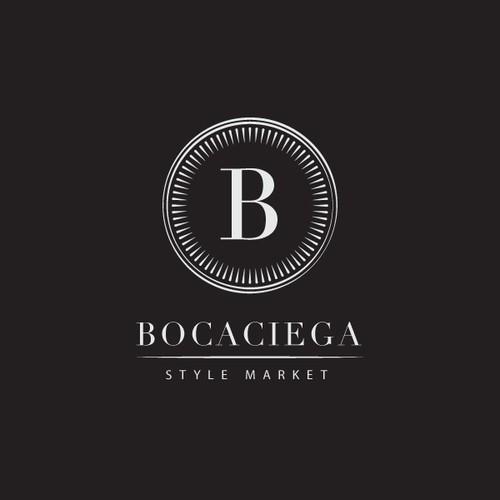 Bocaciega Logo Design