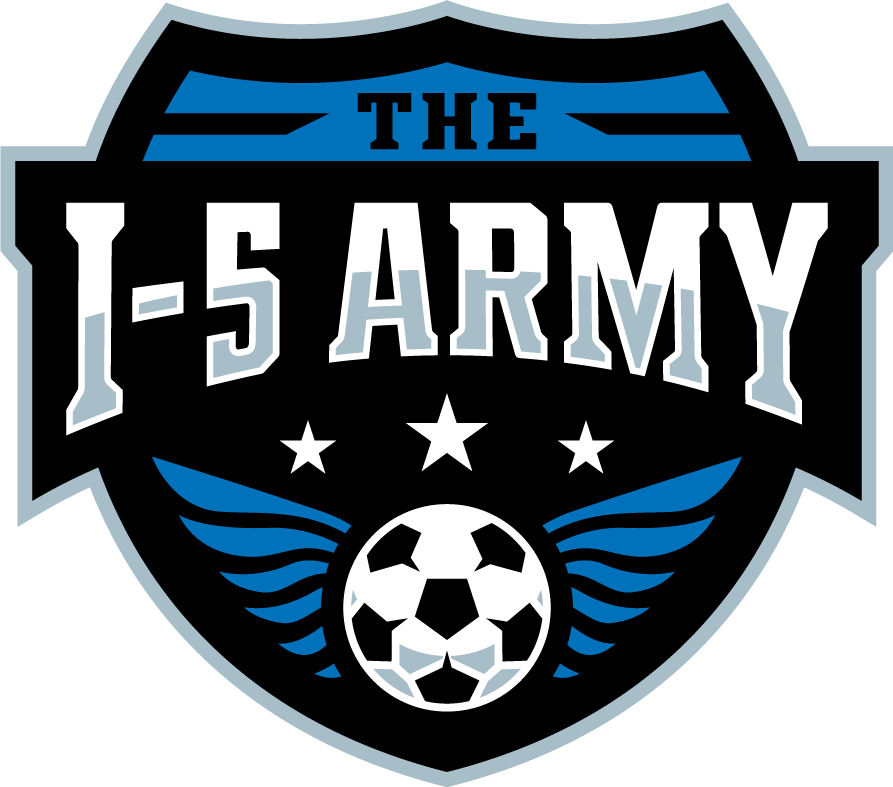 Be the Creative Force for the I-5 Army! An Independent Soccer Supporters Group!