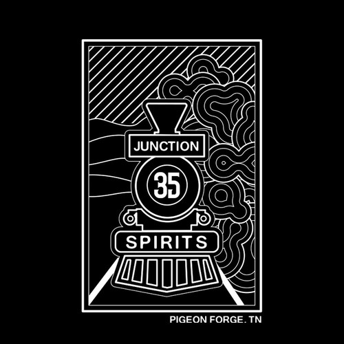 Modern Lineart Tshirt Design for Brewery