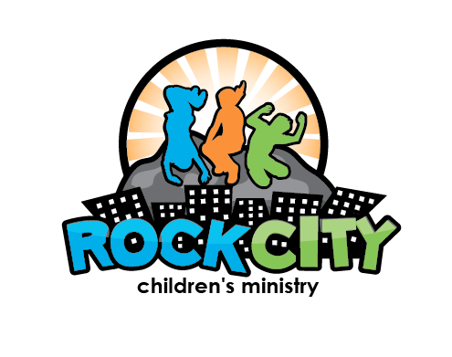 Rock City  Children's Ministry needs a new logo