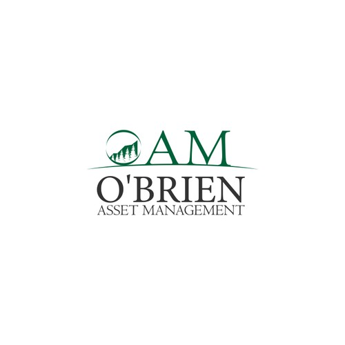 Create a logo for O'Brien Asset Management