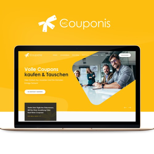 Couponis Website Design