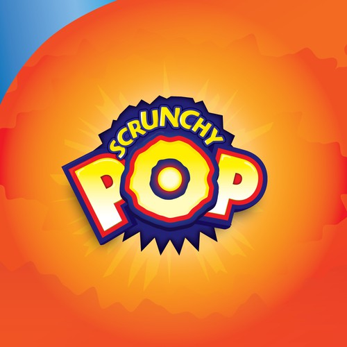 Popping Logo for Scrunchy POP