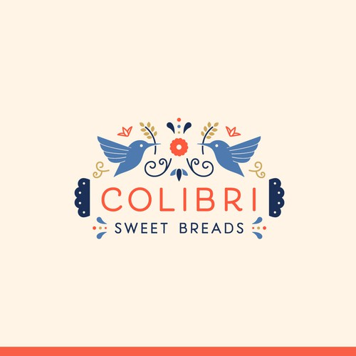 Vibrant & Festive Logo for Mexican Sweet Bread Bakery