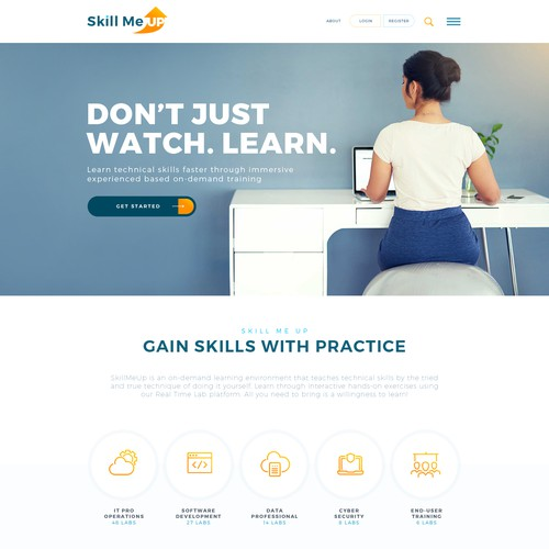 Webdesign and Logo design for Skill Me Up