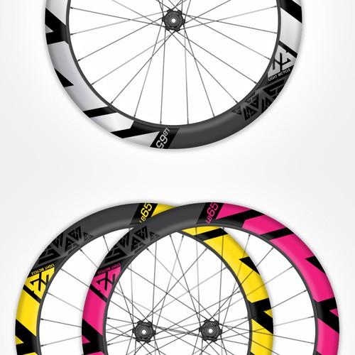 Carbon bicycle rim design