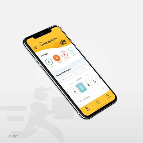 ICarryIt App Design