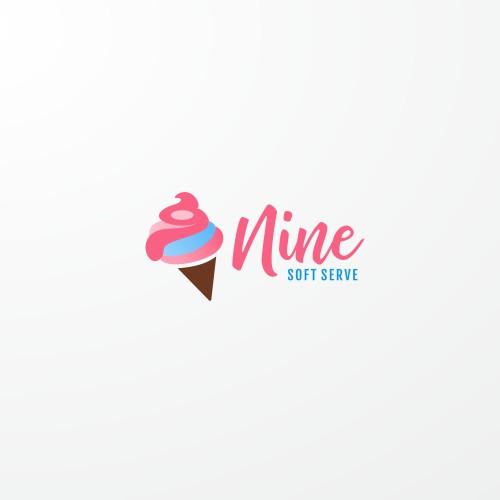 Logo concept for ice cream parlor