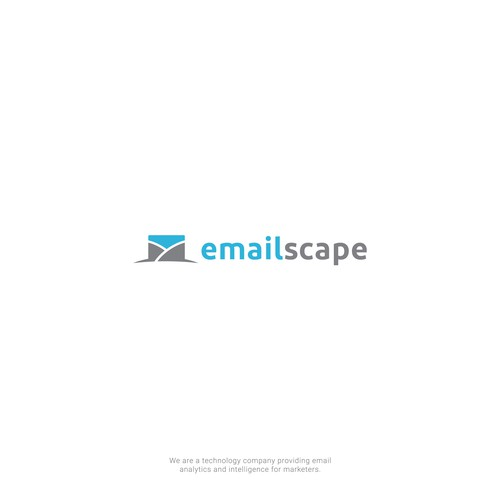 Clean, professional, creative logo for fun tech company EmailScape