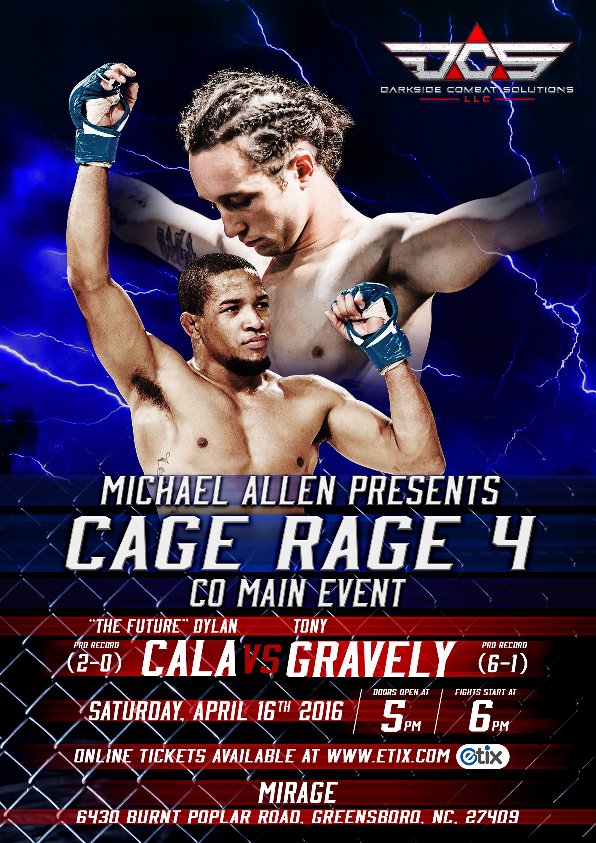 mmafight poster work