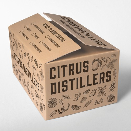 Box design for cocktails
