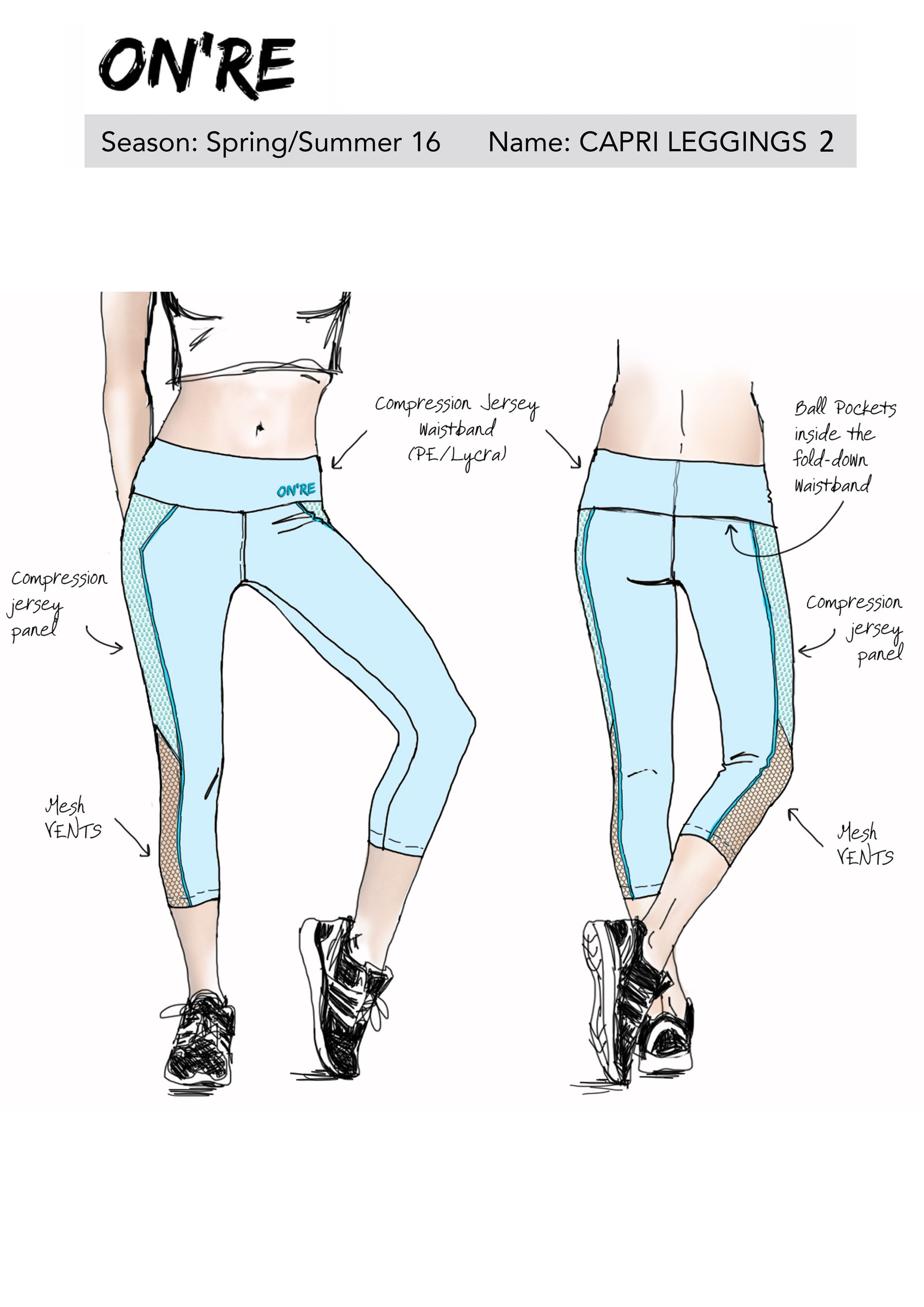 Additional PANTS DESIGN for S/S collection