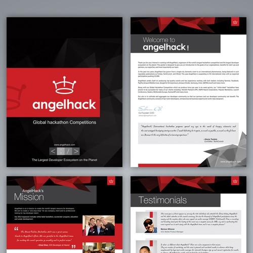 Revamp AngelHack's White Label Hackathon Marketing Material!