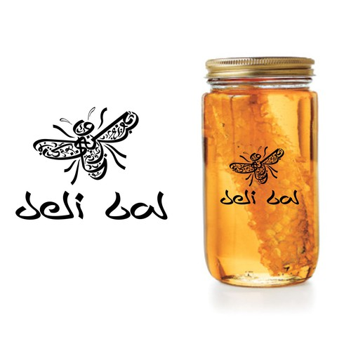 deli bal honey logo
