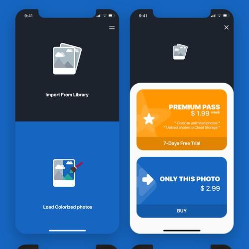 coloring app concept