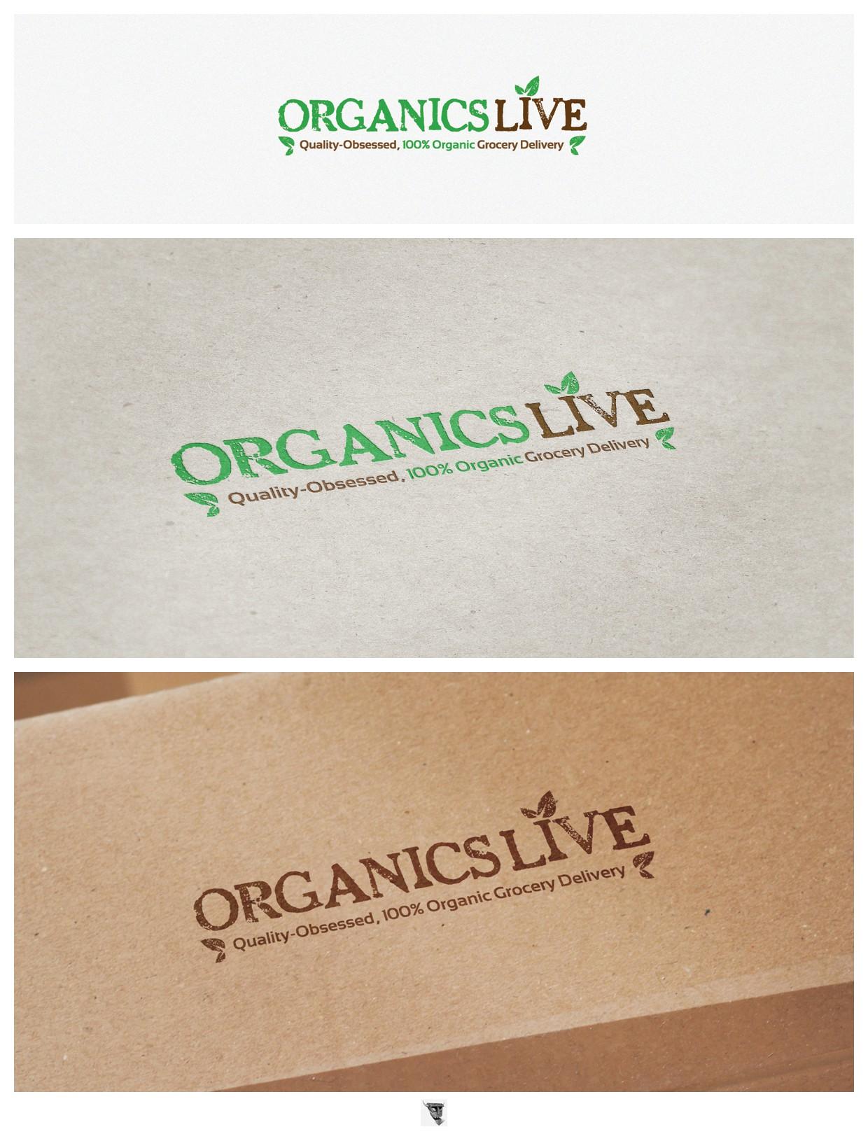 Organics Live needs a new logo