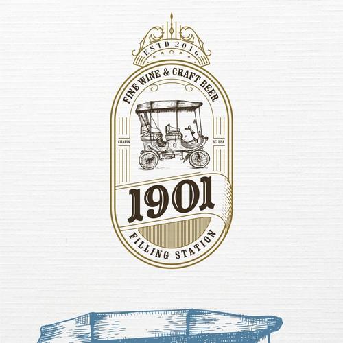 1901 logo design