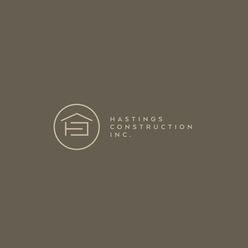 Logo concept Hasting Construction (Construction)