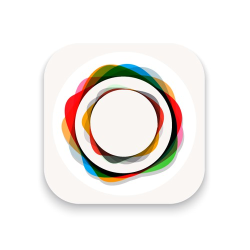"""Create a """"Boho Chic"""" style camera icon for an IOS editing app"""