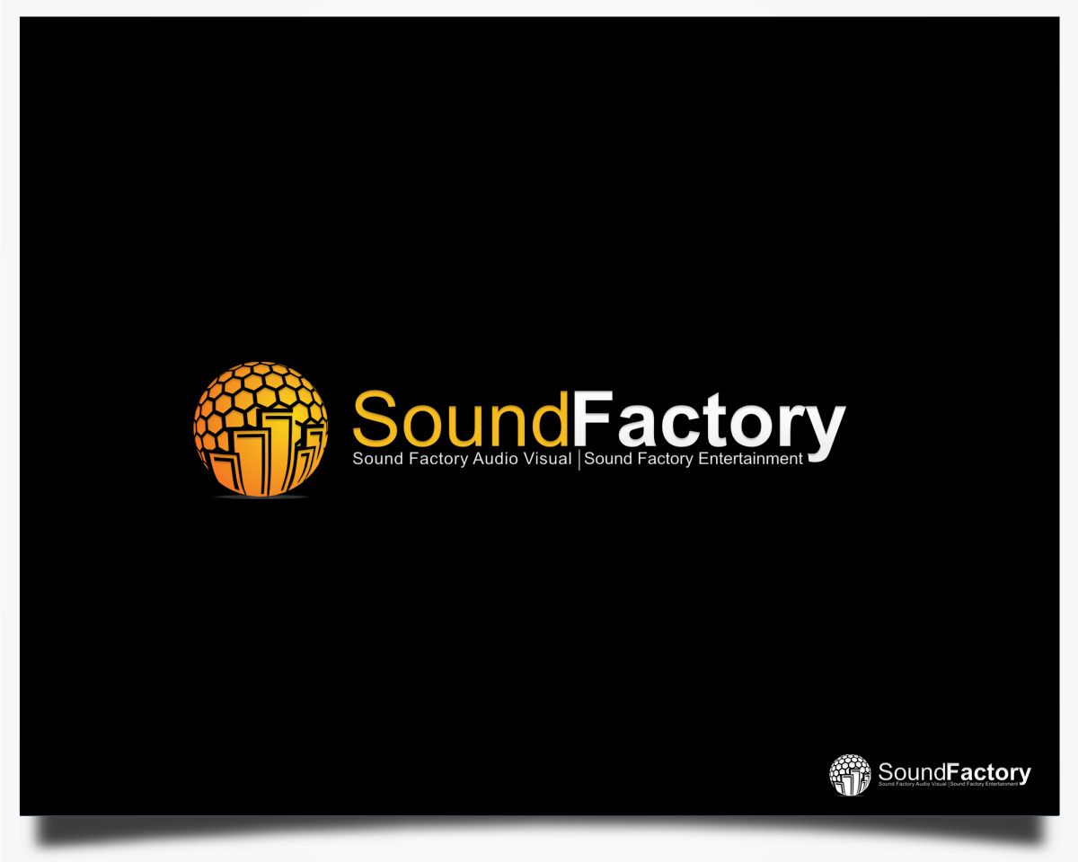 Help Sound Factory with a new logo