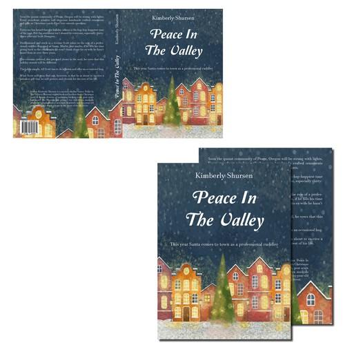 Cover design for a paperback book.