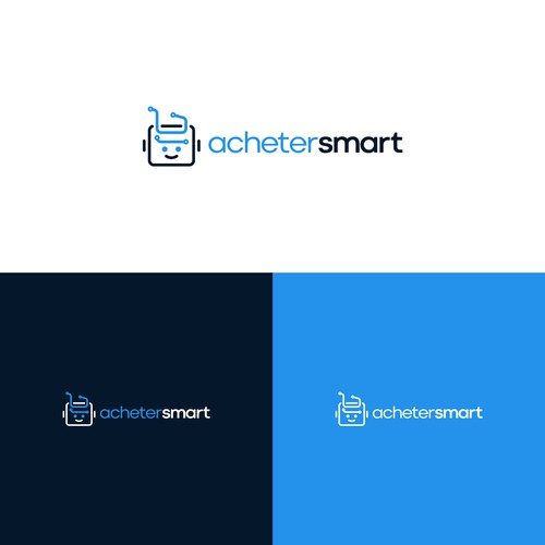 Créer un logo moderne pour site web e-commerce