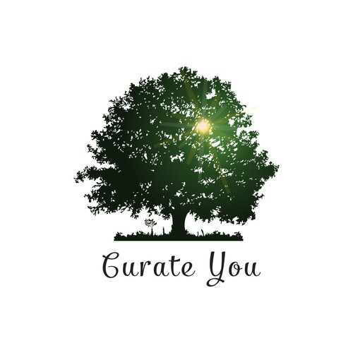 Curate You needs an enlightened logo to help people reach their potential