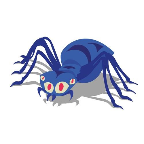 Spider mascot for web development company