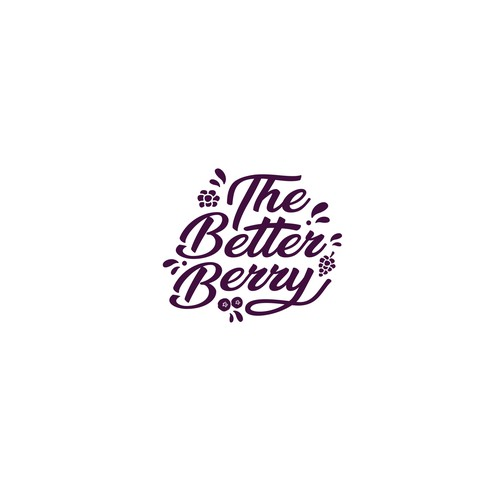 logo concept for the better berry