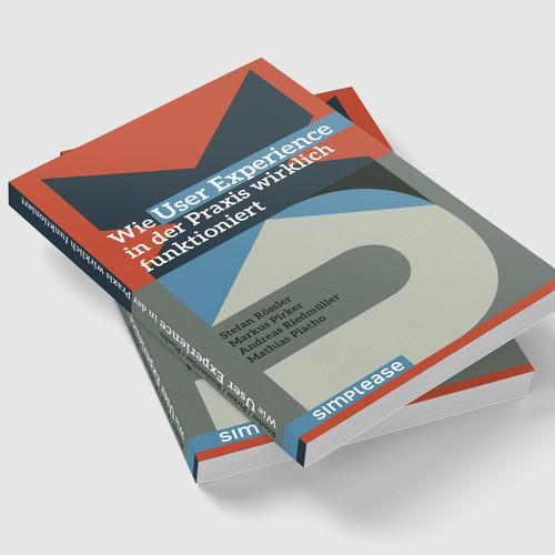 Buchcover für ein Unternehmen, das sich auf User Experience (UX) spezialisiert hat
