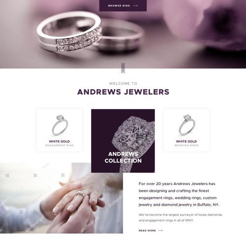 jewelry - online shop design