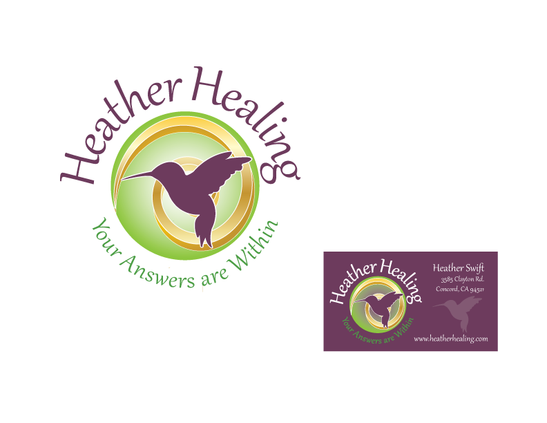 Help Heather Healing with a new logo