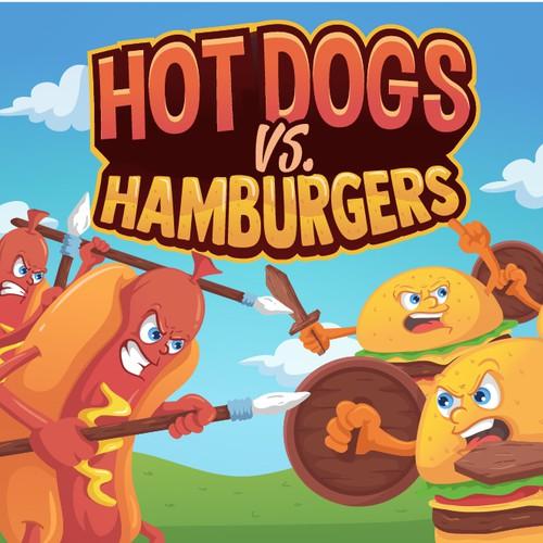 Hot Dogs vs Hamburgers