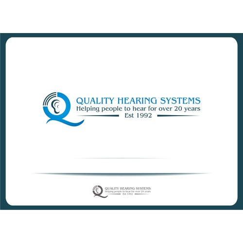 Quality Hearing Systems needs a new logo