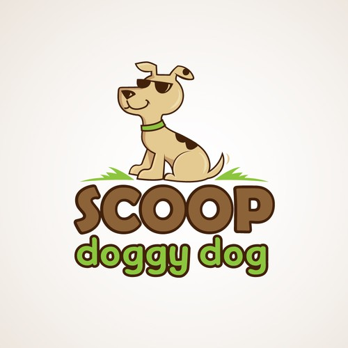 Logo for a dog poo cleaning business