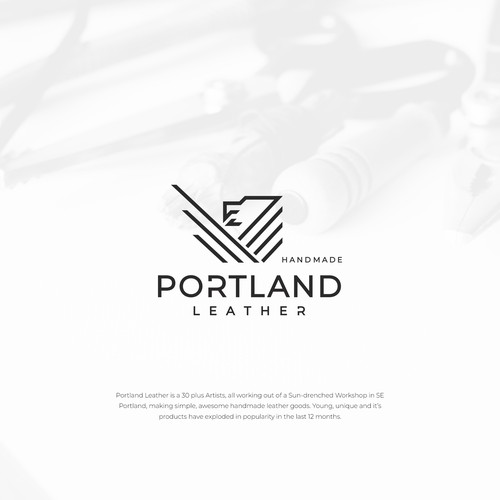 Logo design for Portland Leather