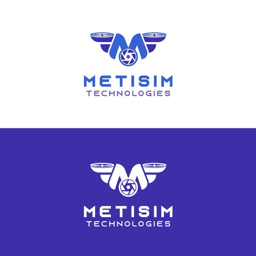 Logo for software company that develops technologies for public security & drones pilots.