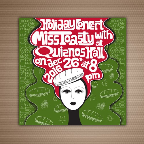 Illustration for 2016 Calendar