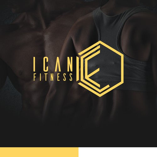 Modern Logo Concept for iCan Fitness
