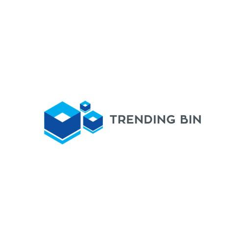 Logo Trending Bin