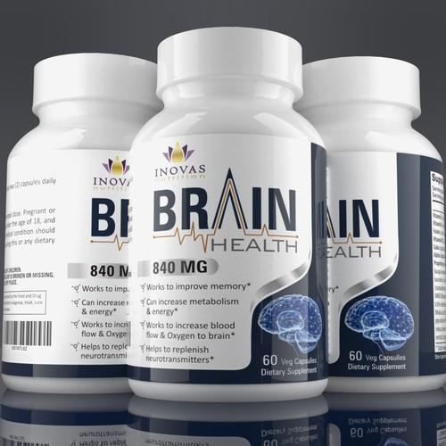 Label design for nutrition supplements