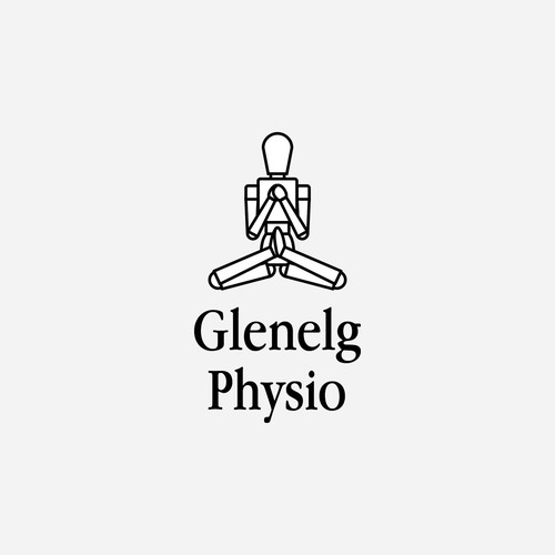 Minimalist Logo Concept for Physiotherapist