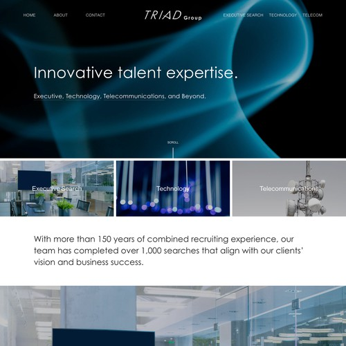 Modern Website For Consulting Firm