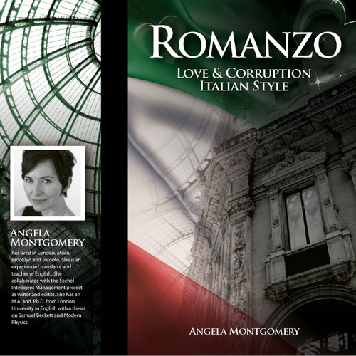 Enhance cover for novel re 'love and corruption Italian style'