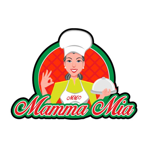 "Logo for our new brand ""Mamma Mia"""