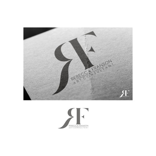 "luxury logo for ""Rebecca Franson Designs"""